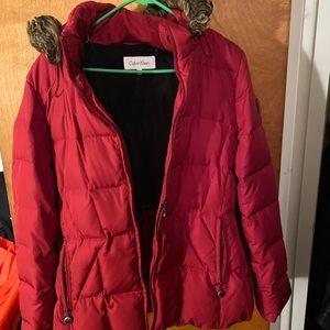 Calvin Klein Red Jacket